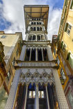 Santa Justa Lift - Lisbon, Portugal Royalty Free Stock Photography
