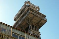 Santa Justa Lift , Lisbon. PORTUGAL. Stock Image