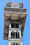 Santa Justa Lift in Lisbon, Portugal Royalty Free Stock Photos