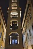 Santa Justa Lift in Lisbon, Portugal Royalty Free Stock Images