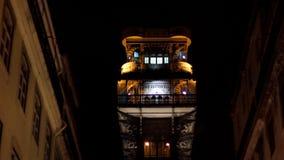 Santa Justa Lift by night