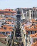 Santa justa winda w Lisbon obrazy stock