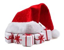 Santa kapelusza Obrazy Royalty Free