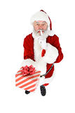 Santa: Keeping Present a Secret Royalty Free Stock Images