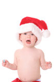 Santa kid2 Stock Images