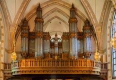 Santa Klara Church Stockholm Sweden Arkivfoto