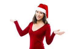 Santa kvinna arkivfoton