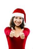 Santa kvinna Royaltyfria Bilder