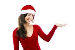 Santa kvinna Fotografering för Bildbyråer