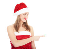 Santa lady Royalty Free Stock Photos