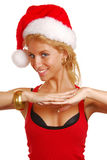 Santa Lady Stock Image