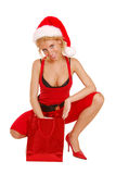 Santa Lady Stock Images