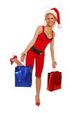 Santa Lady Royalty Free Stock Images