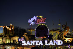 Santa Land fotografia de stock royalty free