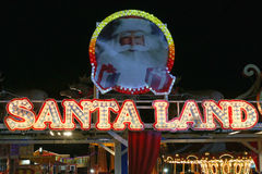 Santa Land Stock Image