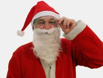 Santa Laughing Royalty Free Stock Photos