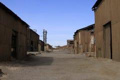 Santa Laura Humberstone saltpetre zakład przetwórczy, Iquique, Chile obrazy royalty free