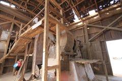 Santa Laura Humberstone saltpetre zakład przetwórczy, Iquique, Chile zdjęcia royalty free