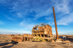 Santa Laura Saltpeter Refinery Arkivbild