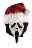 Santa źle zdjęcie stock