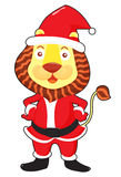 Santa lion Stock Photos