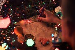 Santa list Zdjęcie Royalty Free