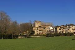 Santa Llogaia de Terri, Pla de le Estany , Girona province, Catalunya. Santa Llogaia de Terri, Pla de le Estany , Girona province, Catalonia, Spain Stock Photos