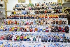 Santa Llucia Christmas Fair, Barcelona Stock Photography