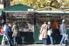 Santa Llucia Fair, Barcelona Royalty Free Stock Image