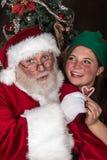 Santa Loves You Stock Photo