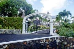 Santa Lucía, el Caribe, casa del gobierno foto de archivo libre de regalías