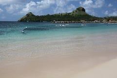 Santa Lucía, isla caribeña Foto de archivo libre de regalías