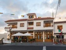 Santa Lucia, θλγραν θλθαναρηα στην Ισπανία - 13 Δεκεμβρίου 2017: Αγορά φρούτων στην οδό σε Santa Lucia, μικρό χωριό σε Gran Στοκ φωτογραφία με δικαίωμα ελεύθερης χρήσης