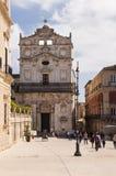 Santa Lucia-alla Badia Royalty-vrije Stock Foto