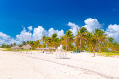 Santa Lucia beach, Camaguey Province, Cuba Royalty Free Stock Image