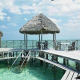 Santa Lucia beach, Cuba Royalty Free Stock Image