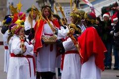 Santa Lucia Children's Procession Royalty Free Stock Photo