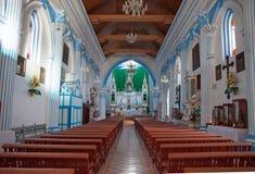 Santa Lucia church in San Cristobal de las Casas, Chiapas, Mexic Stock Image