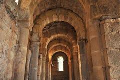 Santa Lucia del Trampal in Alcuescar. Spain Royalty Free Stock Image