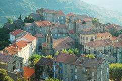 Santa Lucia di Tallano, Corsica Royalty Free Stock Photos