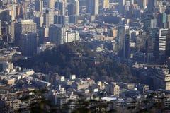 Santa Lucia Hill, Santiago Fotografía de archivo