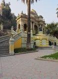 Santa Lucia Hill in Santiago de Chile Royalty Free Stock Image