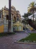 Santa Lucia Hill in Santiago de Chile Stock Images