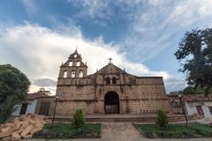 Santa Lucia-kerk royalty-vrije stock foto