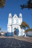 Santa Lucia-Kirche in San Cristobal de Las Casas, Chiapas, Mexic stockbild