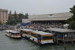 Santa Lucia railway station!!!. City of Venezia Stock Images