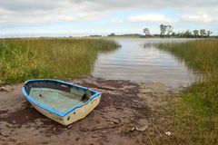 Santa Lucia river, Uruguay Stock Photo
