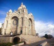 Santa Luzia basílica en Viana do Castelo Portugal del norte Fotos de archivo