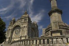Santa Luzia basílico. Viana hace   Fotos de archivo