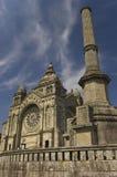 Santa Luzia basilic. Viana do  Stock Images